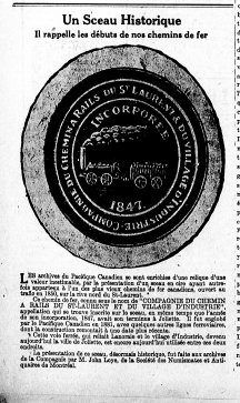 Le Journal de Waterloo 13 avril 1928