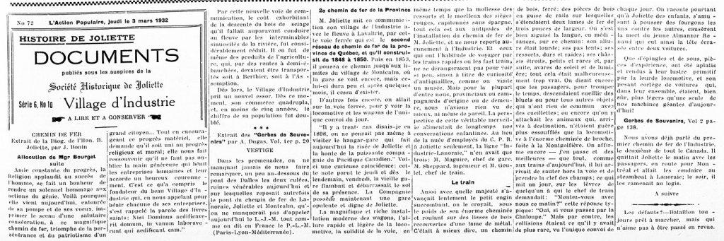 L'Action Populaire 3 mars 1932