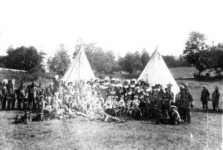 Le campement indien