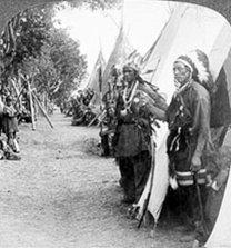 Le camp indien