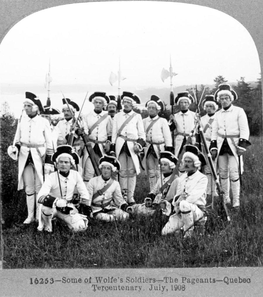 Les soldats de Wolfe