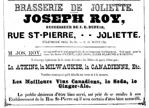 Brasserie de Joliette