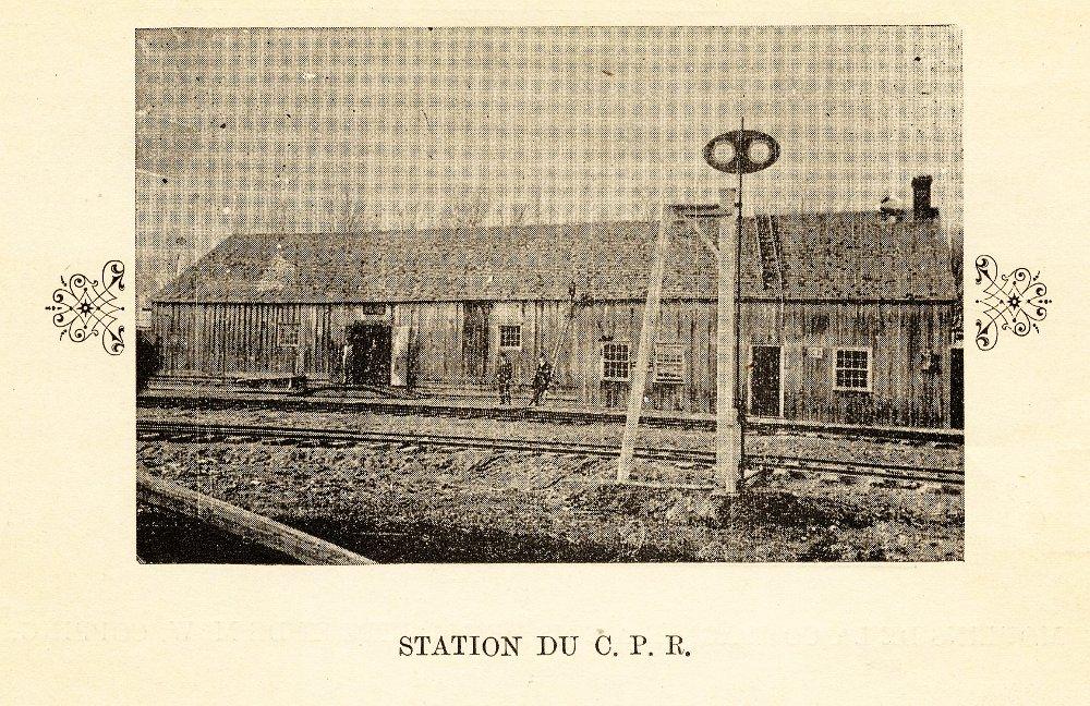 Station du C.P.R.
