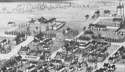 Joliette en 1881 (détail)