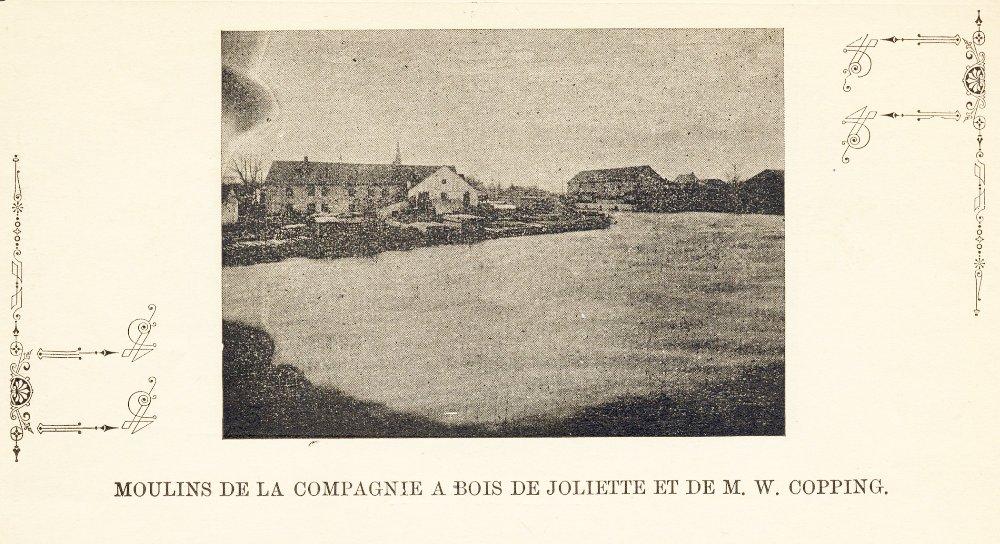 Moulins de la compagnie à bois de Joliette et de M. W. Copping