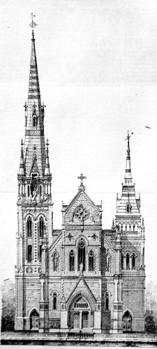 Église Sacré-Coeur rue Ontario Montréal