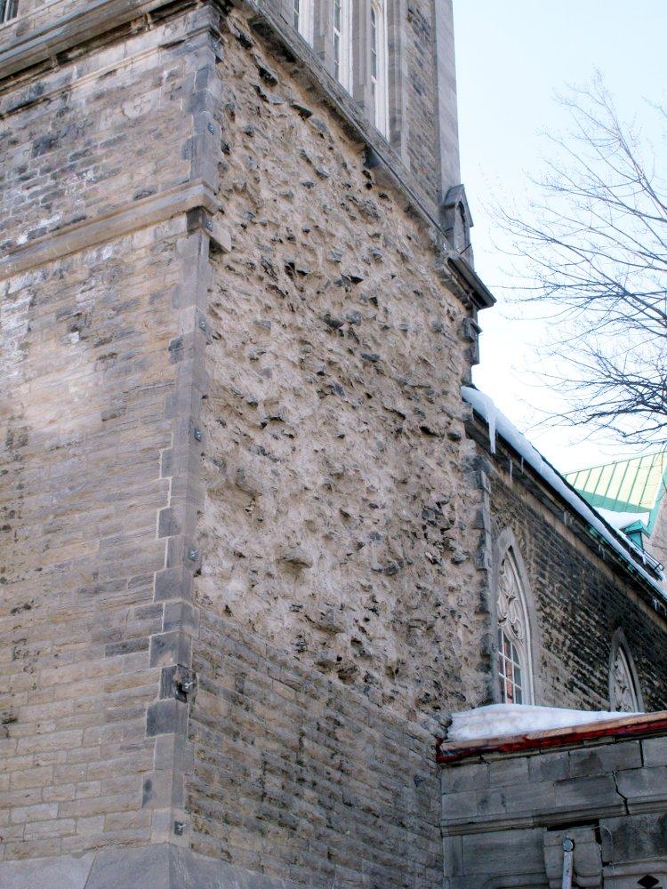 Mur de pierres démonté