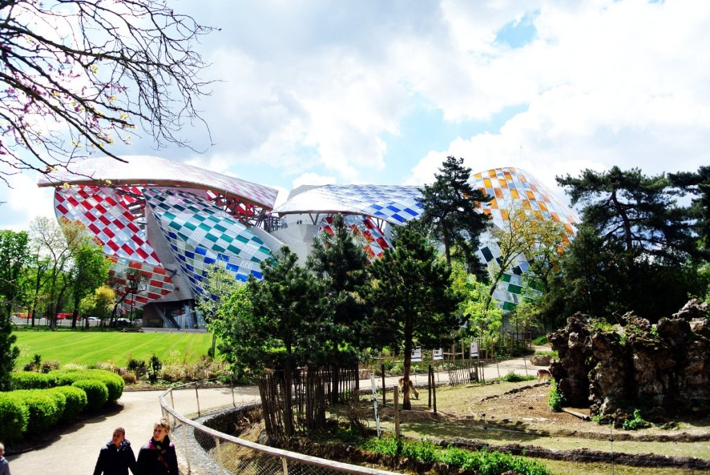 Bois de Boulogne, fondation Vuitton