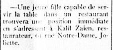 Étoile du Nord 22 mai 1913