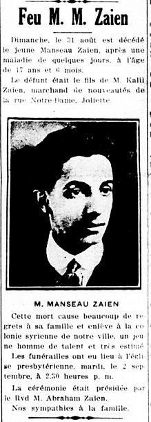 Étoile du Nord 4 septembre 1919
