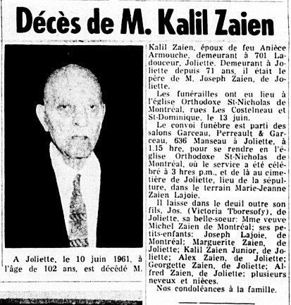 L'Étoile du Nord 14 juin 1961