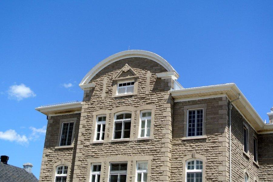 Construction d'Alphonse Durand, évêché de Joliette
