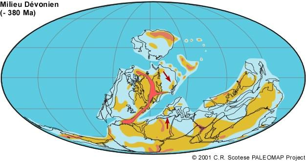 -380 millions d'années
