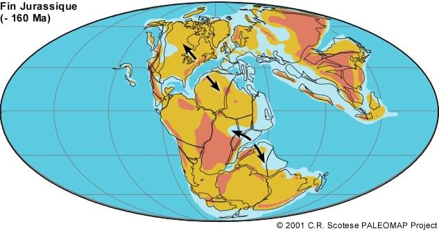 -160 millions d'années