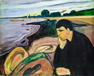 Mélancolie, Edvard Munch