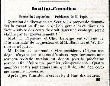 Institut Canadien