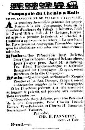 La Minerve - 20 avril 1848