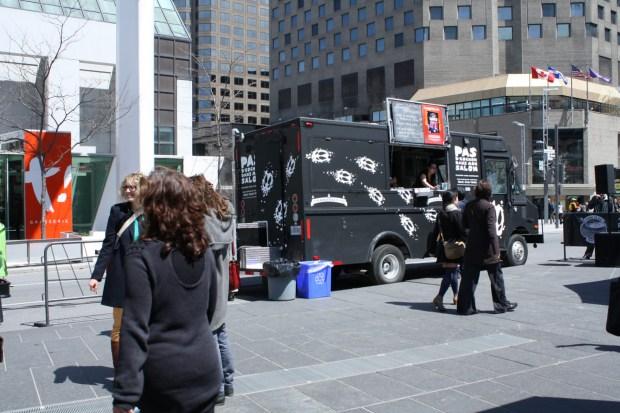 Lunch Beat Montreal. Photo Rachel Levine