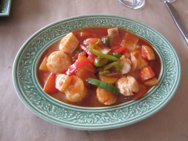 Pad Phrik King. Restaurant Thailande. Photo Esther Szeben.