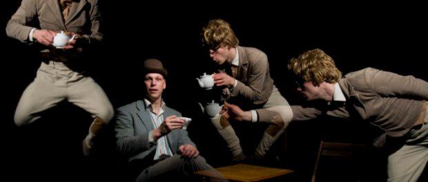 James and Jamesy. High Tea