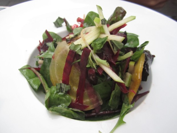 Fresh Beet Salad. Photo Esther Szeben.