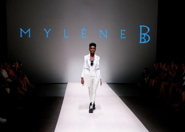 Mylene B. Spring/Summer 2015 collection. Photo Michael Bakouch.