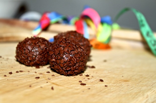 Brigadeiro. A traditional Brazilian sweet. Photo by Annie Shreeve