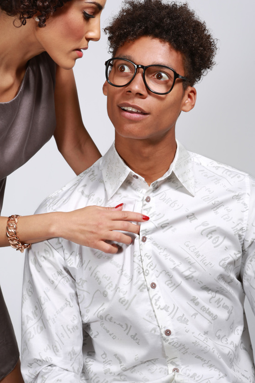 Variable Fashion. Calculus Shirt ad.