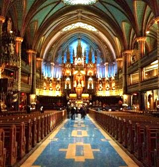 Inside the Basilica. Photo by Annie Shreeve
