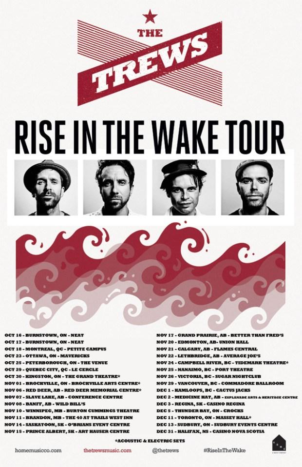 Trews tour poster