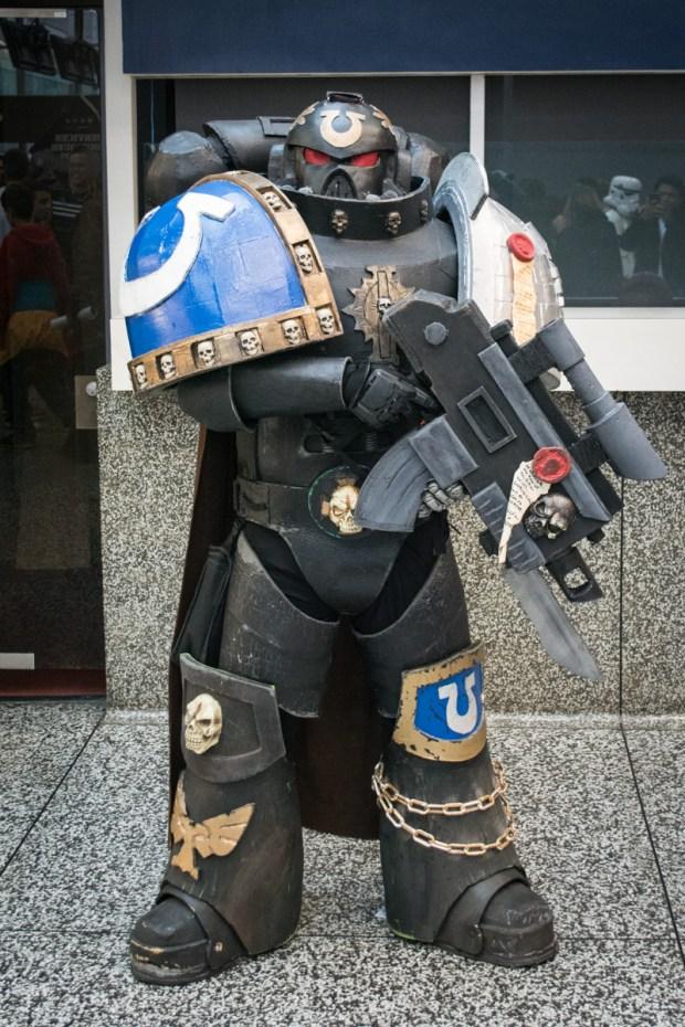Warhammer 40K.. Montreal Comiccon. Photo Jean Frederic Vachon.