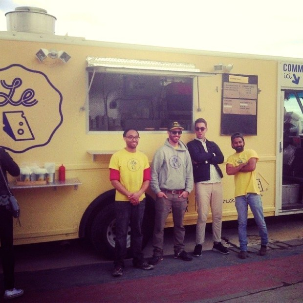 Le Cheese Food Truck! Photo by Le Cheese