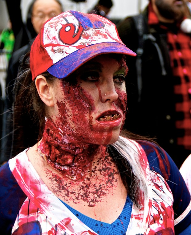 Expos. Zombie Walk. Montreal. Photo Michael Bakouch.