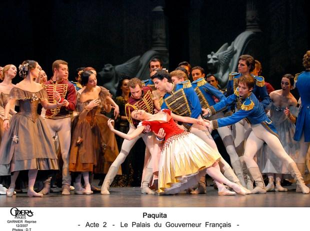 Paquita. Opera de Paris. Photo Christophe Pelé