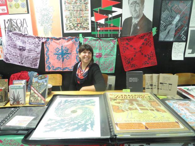 Posters. Expozine. Photo Rachel Levine