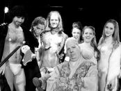 The cast of Game of Thrones Burlesque. Photo Frank Lam