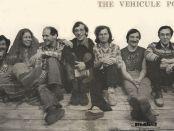 The Vehicule poets (left to right: Endre Farkas, Claudia Lapp, Artie Gold, John McAuley, Ken Norris, Tom Konyves, Stephen Morrissey).