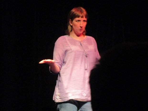 Sandi Armstrong. Monday Night Improv. Photo Rachel Levine.