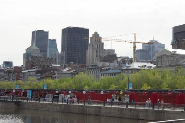 Montreal Old Port. Zip Line. Photo Derrick Soarres.