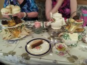 High Tea at Mlle Clifford's. Photo Stephanie Weiner