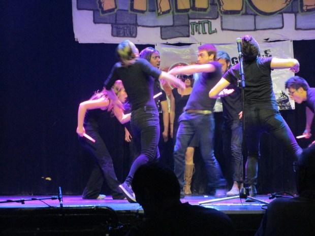 Captain Aurora. Montreal Fringe For All. Photo Rachel Levine