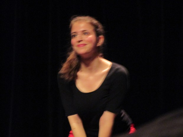 Britt Dash. Montreal Fringe Festival 2015. Photo Rachel Levine