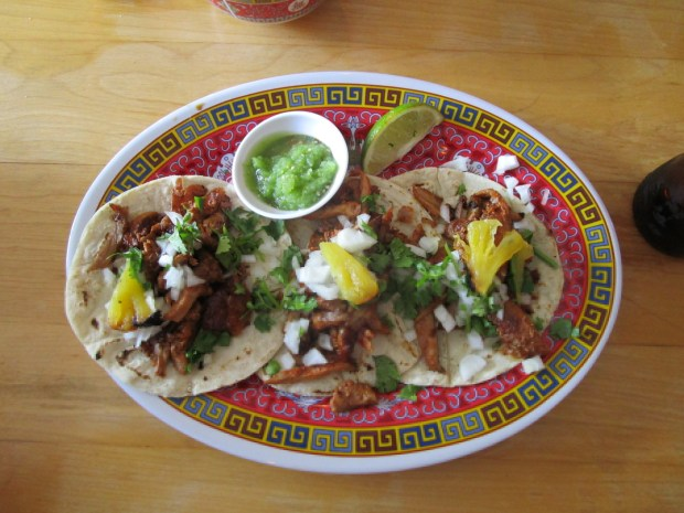 La Capital Tacos. Chinatown. Photo Rachel Levine