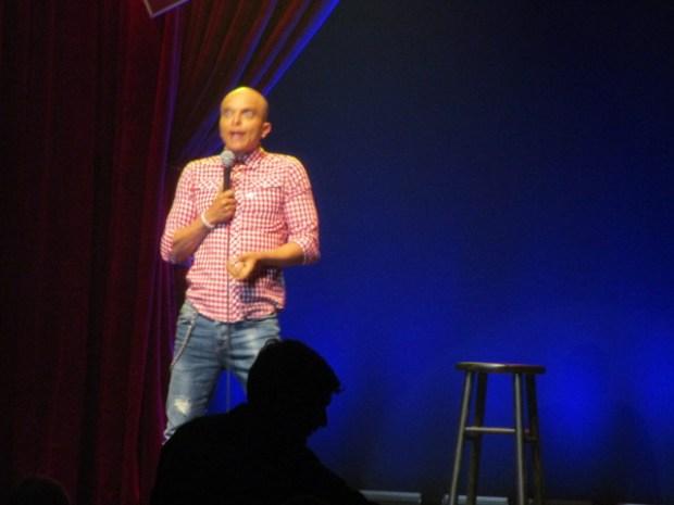 Rachid Badouri. Just for Laughs Ethnic Show. Photo Rachel Levine