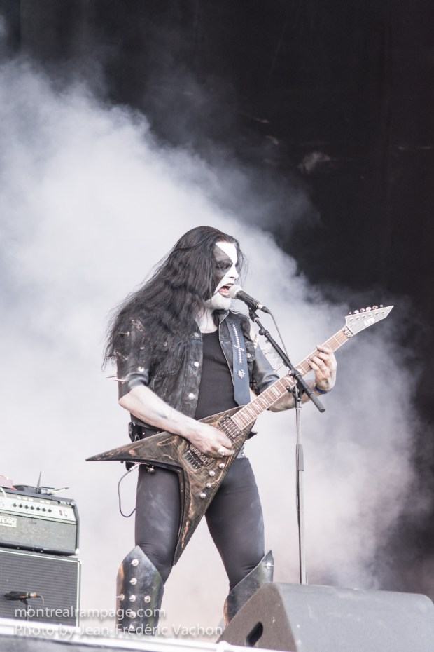 Heavy Montreal - Abbath - August 08, 2015 - Photo Jean Frederic Vachon.