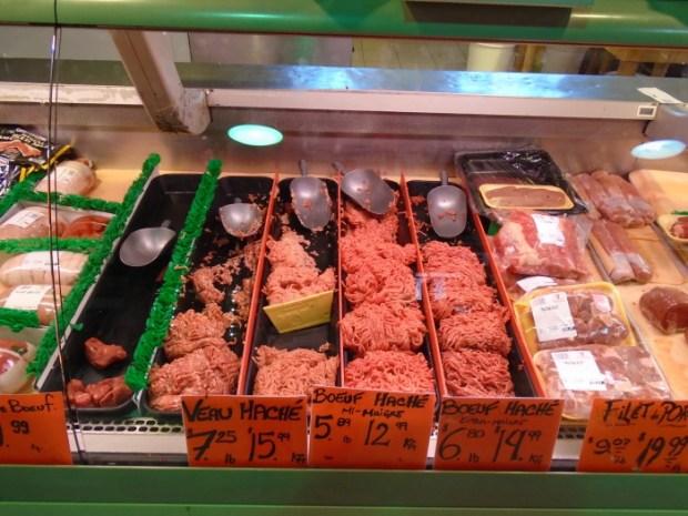 Fresh Meats. Atwater Market. Photo Adam Shaw.