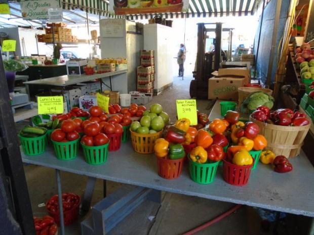 Fresh Vegetables. Photo Adam Shaw. Atwater Market