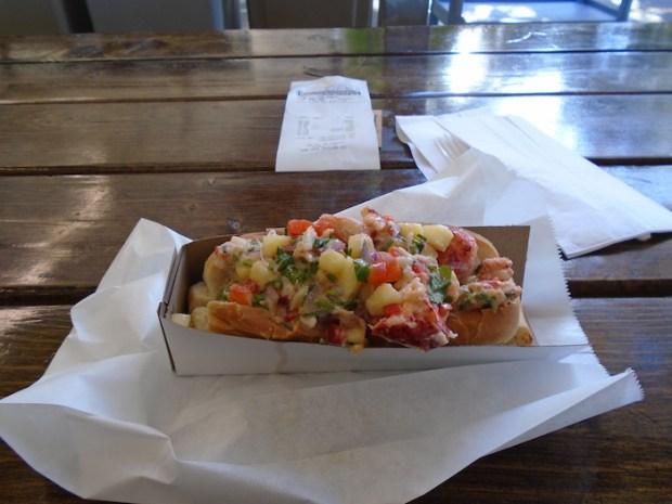 Sea Dog. Lobster Roll. Atwater Market. Photo Adam Shaw.