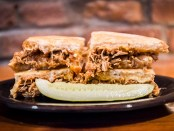 Pulled Pork Grilled Cheese Sandwich. MLT DWN. Mt. Royal. Plateau. Photo Laura Dumitriu