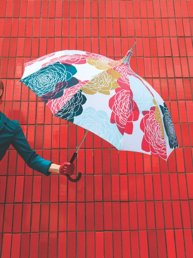 mademoiselle poire umbrella.